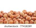 Nut. Hazelnuts. Pile Of Tree...