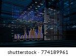 media technologies for business.... | Shutterstock . vector #774189961