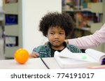 cute children are studying at... | Shutterstock . vector #774191017
