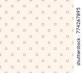 universal raster seamless... | Shutterstock . vector #774267895