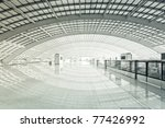 modern hall of subway station ... | Shutterstock . vector #77426992
