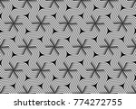 seamless pattern of twisted... | Shutterstock .eps vector #774272755
