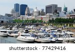 Downtown Montreal Waterfront - stock photo