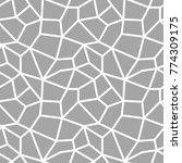 polygonal seamless background.... | Shutterstock .eps vector #774309175