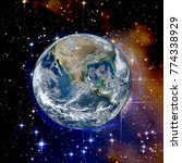 spectacular planet earth. the... | Shutterstock . vector #774338929