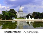 congress building in capitol... | Shutterstock . vector #774340351