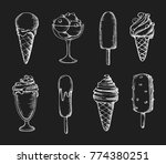 vector hand drawn illustration... | Shutterstock .eps vector #774380251