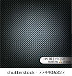 vector pattern seamless carbon... | Shutterstock .eps vector #774406327