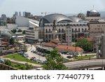 skopje  republic of macedonia   ...   Shutterstock . vector #774407791