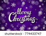 raster copy violet background... | Shutterstock . vector #774433747