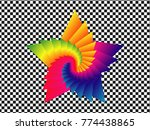logo and icon flower pattern... | Shutterstock .eps vector #774438865