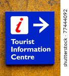 Tourist Information Sign On A...