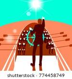 teamwork  cooperation  nautical ... | Shutterstock .eps vector #774458749