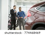 shot of a professional car... | Shutterstock . vector #774468469