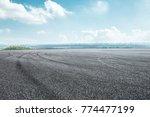 international circuit asphalt... | Shutterstock . vector #774477199
