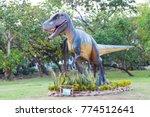 lumpini park bangkok thailand ... | Shutterstock . vector #774512641