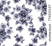 abstract elegance seamless... | Shutterstock .eps vector #774525157