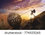 young female entrepreneur...   Shutterstock . vector #774525265