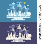 web banners with abstract... | Shutterstock .eps vector #774542629
