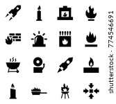 origami style icon set   rocket ... | Shutterstock .eps vector #774546691