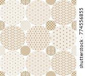japanese pattern background... | Shutterstock .eps vector #774556855