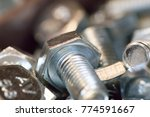 nuts bolts and screws | Shutterstock . vector #774591667