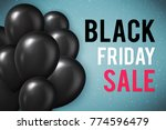 black friday sale poster | Shutterstock . vector #774596479
