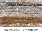 kitchen countertops high... | Shutterstock . vector #774608389