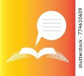 book icon vector | Shutterstock .eps vector #774610609