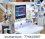 inhalation anaesthetic machine... | Shutterstock . vector #774615007