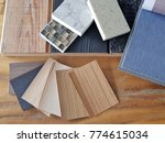 samples of material  wood  ... | Shutterstock . vector #774615034
