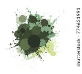 banner blot presentation ... | Shutterstock . vector #774621991
