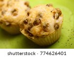 homemade delicious muffin