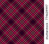 seamless tartan vector pattern   Shutterstock .eps vector #774639997