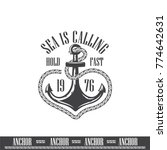 black anchor background  anchor ... | Shutterstock .eps vector #774642631