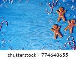 christmas background....   Shutterstock . vector #774648655