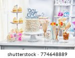 """""""boy or girl"""" cake and... 