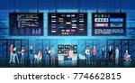 development office design... | Shutterstock .eps vector #774662815