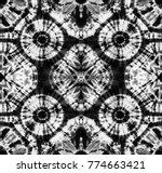 seamless pattern  abstract tie...   Shutterstock . vector #774663421