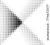 abstract grunge grid polka dot...   Shutterstock .eps vector #774672577