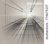 background image. road in... | Shutterstock .eps vector #774675157