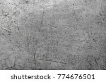 old scratched texture | Shutterstock . vector #774676501