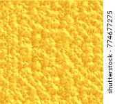 sunny yellow rough structure 3d ... | Shutterstock .eps vector #774677275