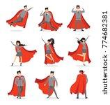 vector illustrations in flat... | Shutterstock .eps vector #774682381