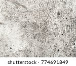 Small photo of Cemented Plaster.Abstract Expressionism.