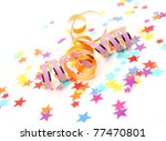confetti and streamer | Shutterstock . vector #77470801