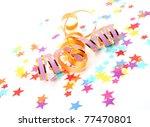 confetti and streamer   Shutterstock . vector #77470801