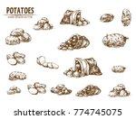 digital vector detailed line...   Shutterstock .eps vector #774745075