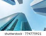 modern skyscrapers of shinjuku  ... | Shutterstock . vector #774775921