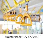 handles for standing passenger... | Shutterstock . vector #77477791